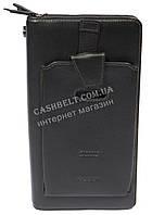 Вместительная мужская сумка барсетка органайзер с качественной кожи HASSION art. H-047 черн