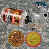 Боеприпасы для пневматики и револьверов флобера