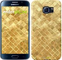 """Чехол на Samsung Galaxy Note 5 N920C Текстура цвета золото """"2538u-127"""""""