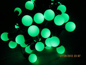 Гирлянда Зеленые шарики