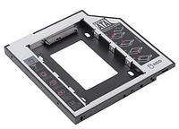 Адаптер для второго HDD ноутбука (Оптибей) 12.7 мм