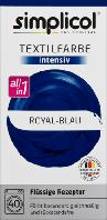 Simplicol intensiv Royal-Blau - Текстильная краска королевского синего цвета, 150 мл + 400г
