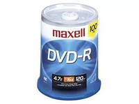 Диск DATEX DVD-R (4.7Gb, 16x, spindle 100) 1pcs