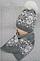 Шапка+шарф для девочек Орнамент зимний 5-12 лет, разные цвета, фото 2