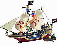 Конструктор BRICK 311 Пиратский корабль 487 дет.