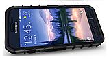 Протиударний бампер Splint для Samsung Galaxy S6 Active (SM-G890) - Black, фото 4