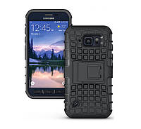 Противоударный бампер Splint для Samsung Galaxy S6 Active (SM-G890) - Black