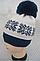 Шапка для девочек зимняя с помпоном Снежинка, 5-15 лет, флис, фото 2