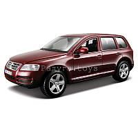 Автомодель VOLKSWAGEN TOUAREG красный металлик, синий металлик 1:24 Bburago (18-22015)