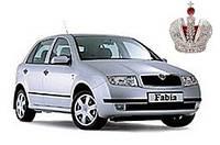 Автостекло, лобовое стекло SKODA FABIA (Шкода Фабия) 1999-2007