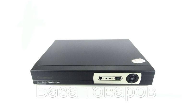 Видеорегистратор на 16 камер DVR 6616 16-CAM, видеорегистратор 16 каналов, регистратор камер видеонаблюдения - База товаров в Одессе