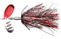 Блесна Savage Gear DP Spinner #6 34g Red Silver Flash