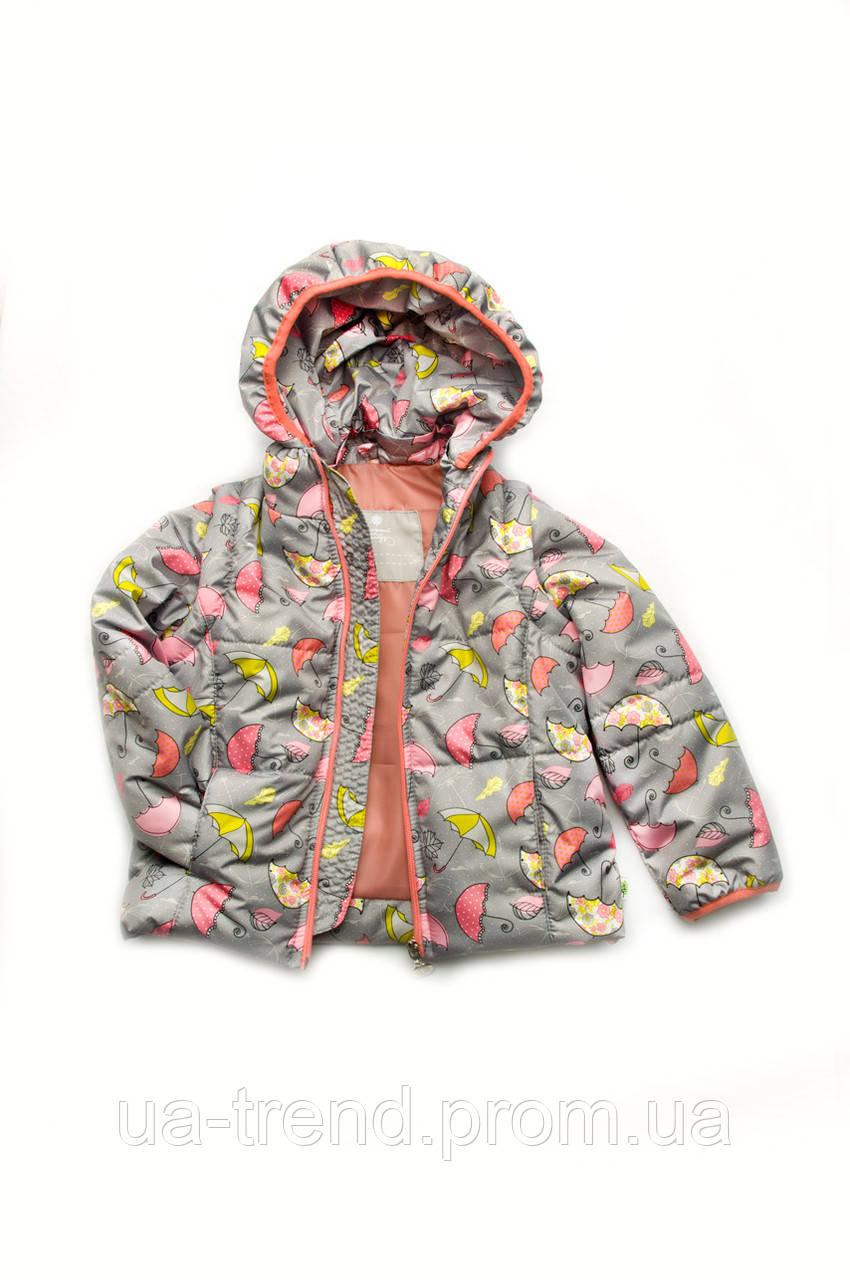 Куртка-жилет для девочки осень-весна