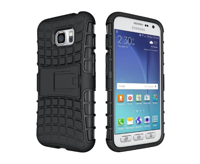 Противоударный бампер Splint для Samsung Galaxy S7 Active (SM-G891) - Black