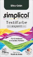 Simplicol expert Efeu-Grün - Текстильная краска темно зеленого цвета, 150 г