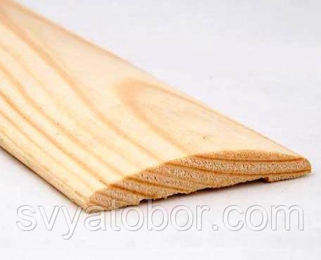 Наличник овальный 2200х70х14 сосна (І-й сорт)