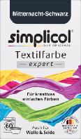 Simplicol expert Mitternacht-Schwarz - Текстильная краска черного цвета, 150 г
