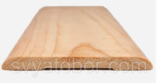 Наличник плоский 2200х120х14 сосна (І-й сорт)