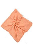 Персиковый шейный платок