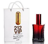 Мини парфюм Carolina Herrera 212 VIP в подарочной упаковке 50 ml
