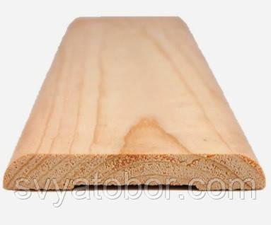 Наличник плоский 2200х100х14 сращенный сосна