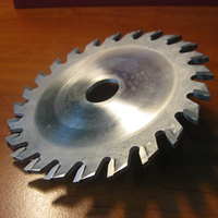 Подрезка диска