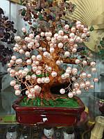 Дерево из розовоо жемчуга речного