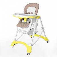 Стульчик для кормления Carrello Caramel CRL-9501 Желтый, фото 1