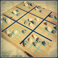 Крестики-нолики Pro Стратегическая настольная игра 30х30см