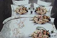 Комплект постельного белья Vie Nouvelle Сатин 5D микрофибра