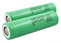 Аккумулятор 18650 Samsung 25R 2500mah (35A)