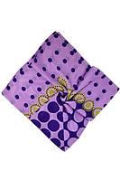 Нарядный сиреневый платок от производителя