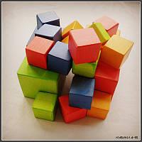 Деревянные кубики 4-16. Игрушка с большим потенциалом