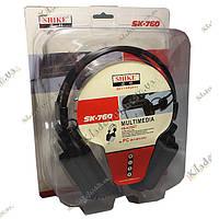 Гарнитура SHIKE SK-760 с микрофоном, фото 1