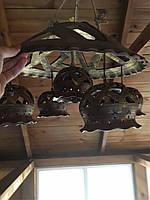Эксклюзивная люстра из глины, фото 1