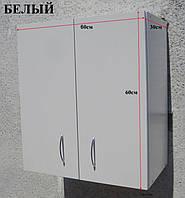 Шкаф навесной 60х60х30 на кухню (Белый)