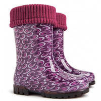 Гумові чобітки (резиновые сапоги) Demar Аметист (Бульки)