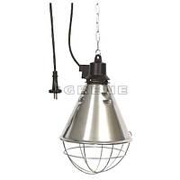 Защитный плафон с переключателем для инфракрасных ламп (брудер)