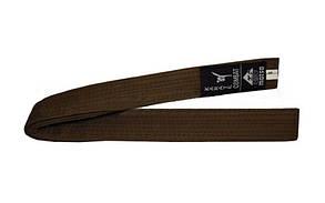 Пояс для кимоно MATSA коричневый MA-0040-BR(4)  (хлопок, р.4, 270см)