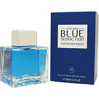 Мужская туалетная вода Antonio Banderas Blue Seduction for Men eu de Toilette (EDT) 100ml