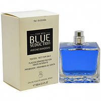 Мужская туалетная вода Antonio Banderas Blue Seduction for Men eu de Toilette (EDT) 100ml, Тестер (Tester)