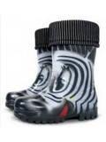 Гумові чобітки (резиновые сапоги) Demar Зебра