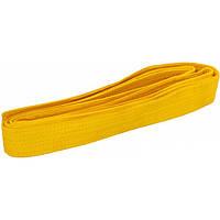 Пояс для кимоно Champion жёлтый  260см