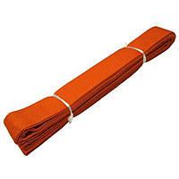 Пояс для кимоно Champion оранжевый 260см