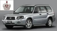 Автостекло, лобовое стекло SUBARU FORESTER (Субару Форестер) 2003-2008