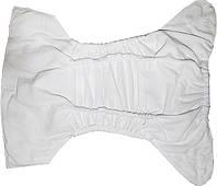 Подгузники многоразовые с дополнительной защитой от протекания флисовые для новорожденных
