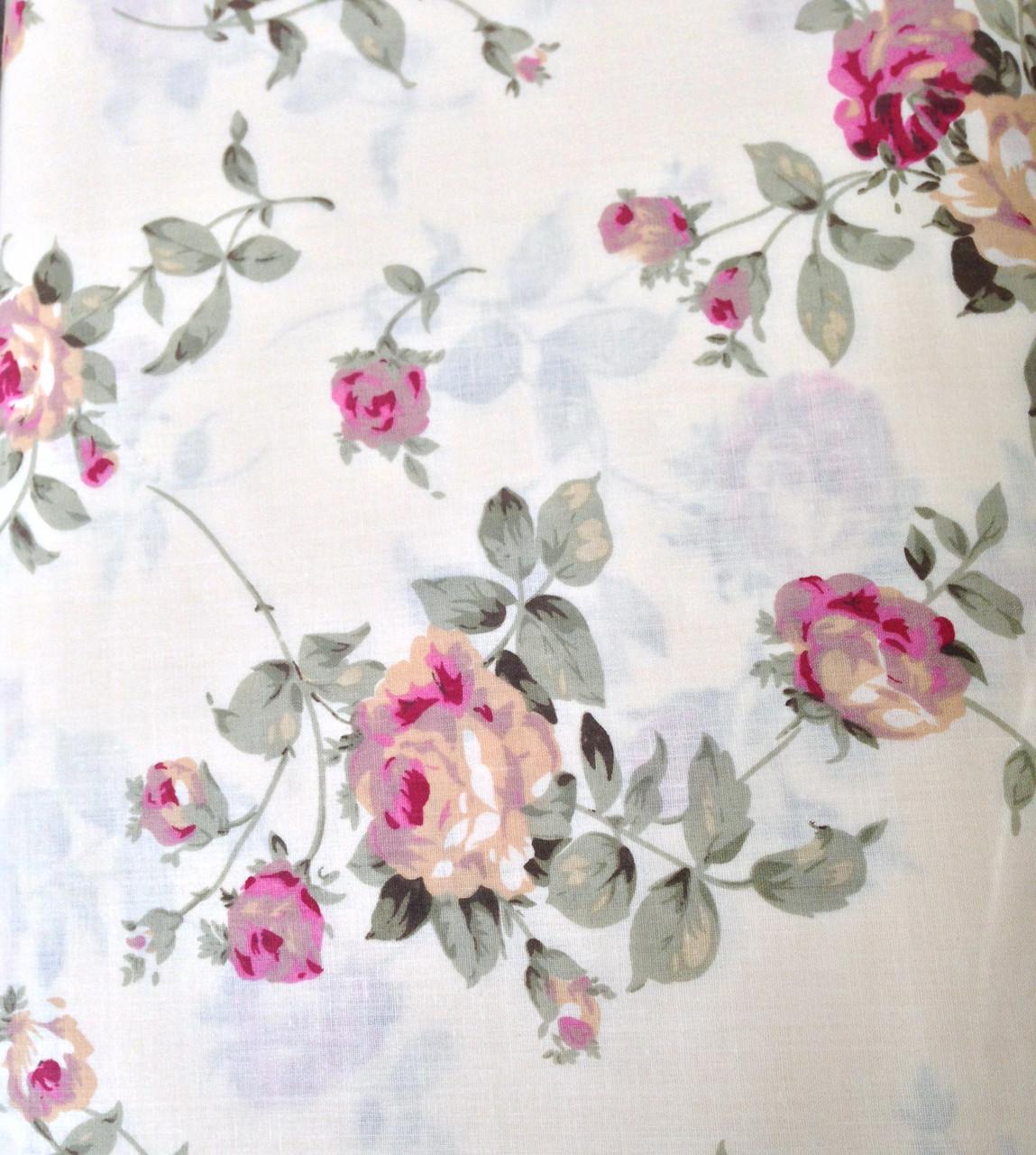 Купить ткань цветы - Интернет магазин тканей «itkani» 50