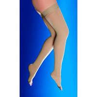 Компрессионные чулки с открытым носком, 2 класса компрессии (22-33 мм рт.ст.)