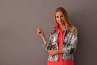 Пиджак двухслойный велюр-коттон, фото 1