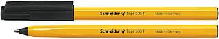 Ручка шариковая Schneider TOPS 505 F черная